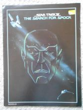 Star Trek 3,The Search for Spock, Campaign Book, Leonard Nimoy, Shatner, '84